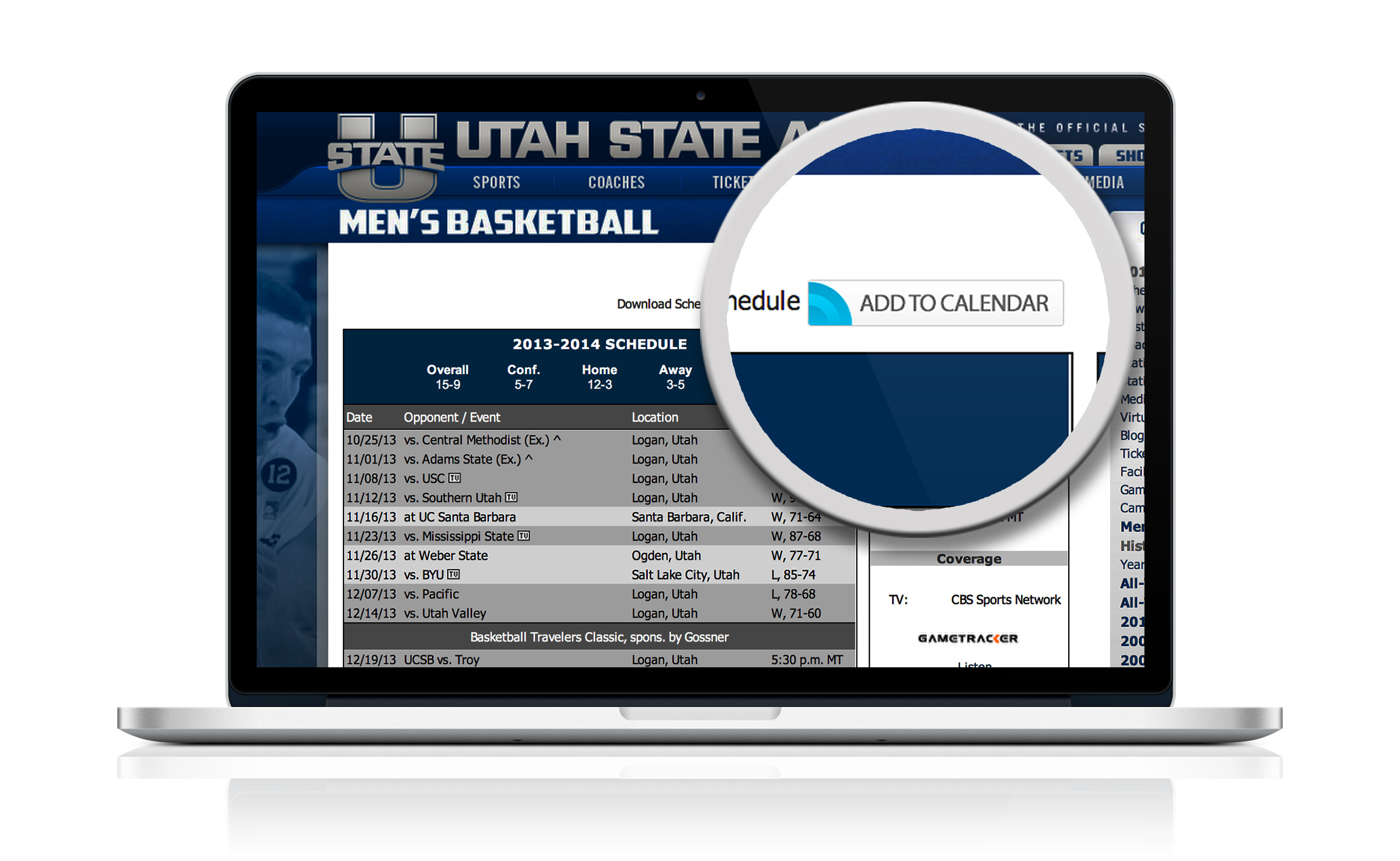 USU Athletics Schedules Available For Fans To Download To Calendars