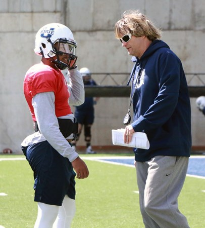 First-Year Offensive Coordinator David Yost Energized and