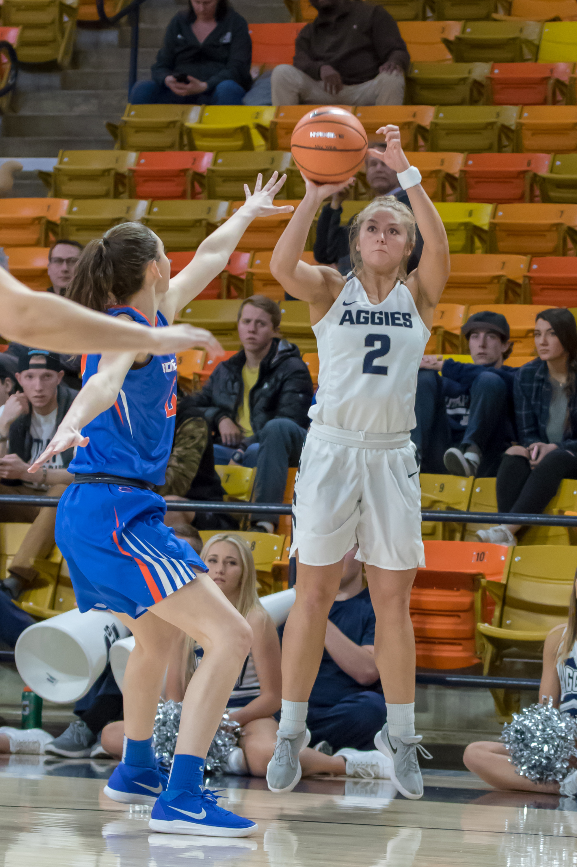 5338a3d9f Game Notes  USU Women s Basketball Taking on Air Force and Fresno ...