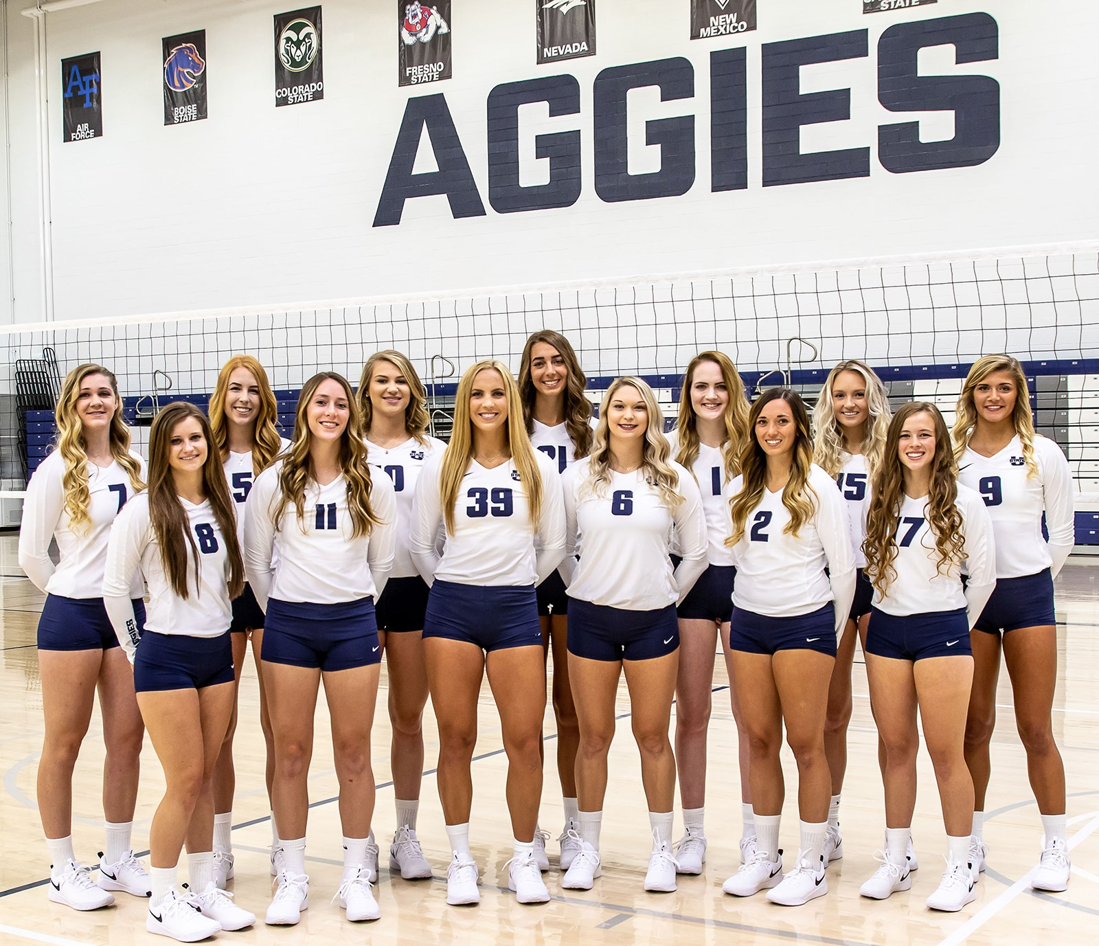 2018 Women S Volleyball Roster Utah State University Athletics