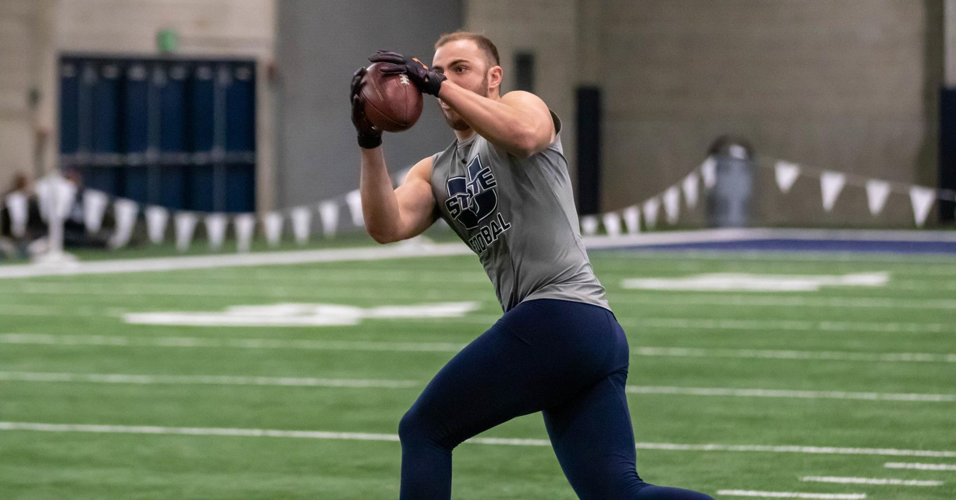 Former Utah State Football Players Perform Well at Pro Day - Utah