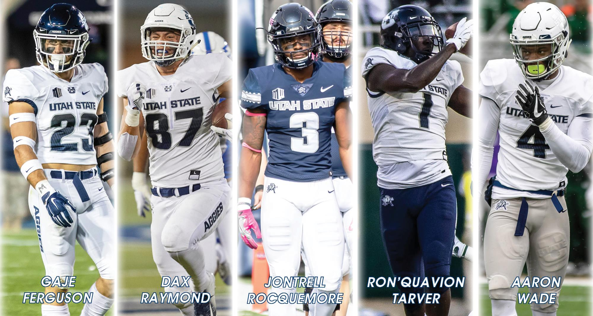 Five Former Utah State Football Players Sign NFL Free Agent